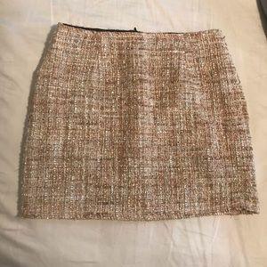 SheIn Tweed Sparkle Miniskirt
